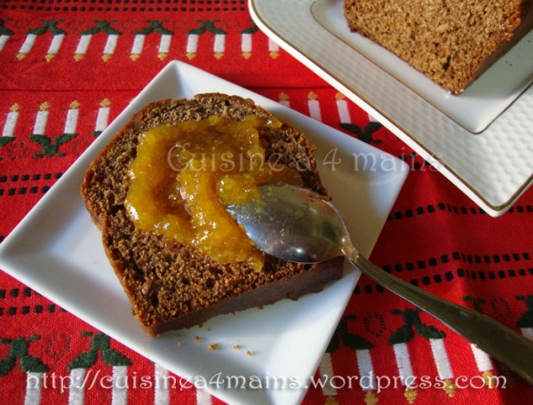 pain aux épices5 - cuisine à 4 mains