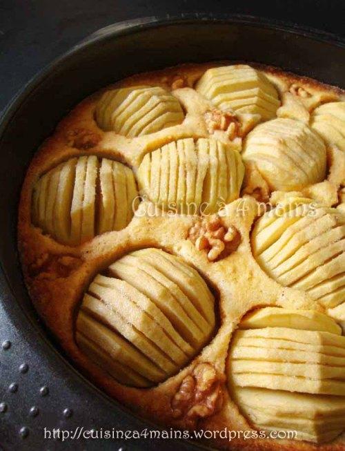 tarte aux pommes danoise1  - cuisine à 4 mains