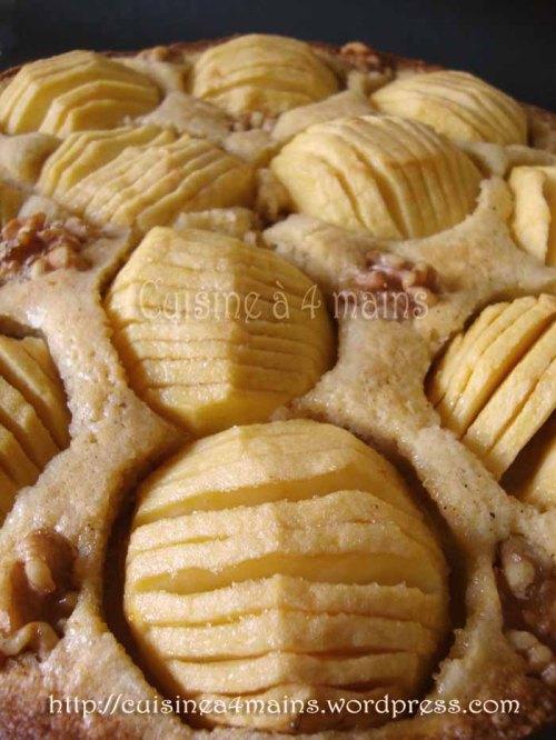 tarte aux pommes danoise2  - cuisine à 4 mains