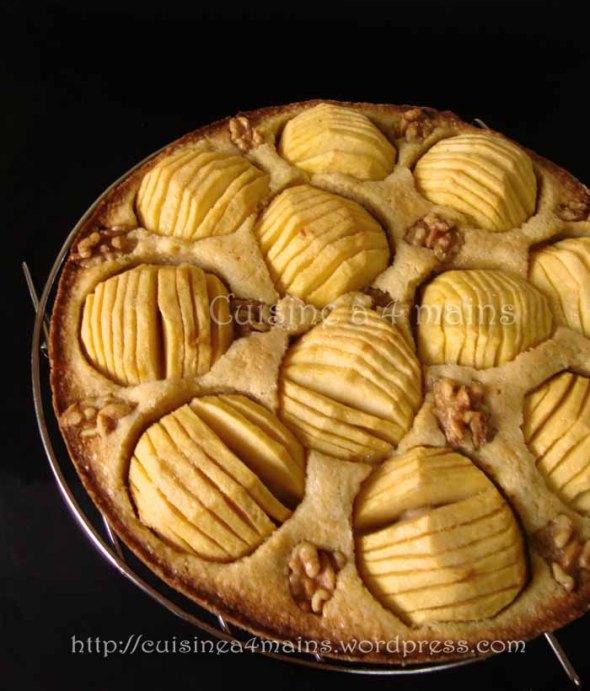 tarte aux pommes danoise3  - cuisine à 4 mains