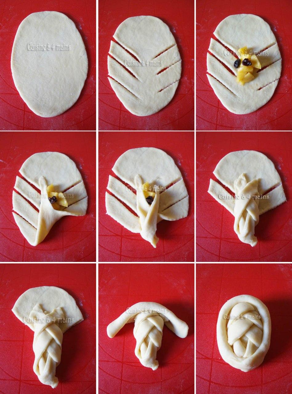 Brioche aux pommes 4 cuisine 4 mains cuisine 4 mains for Cuisine 4 mains