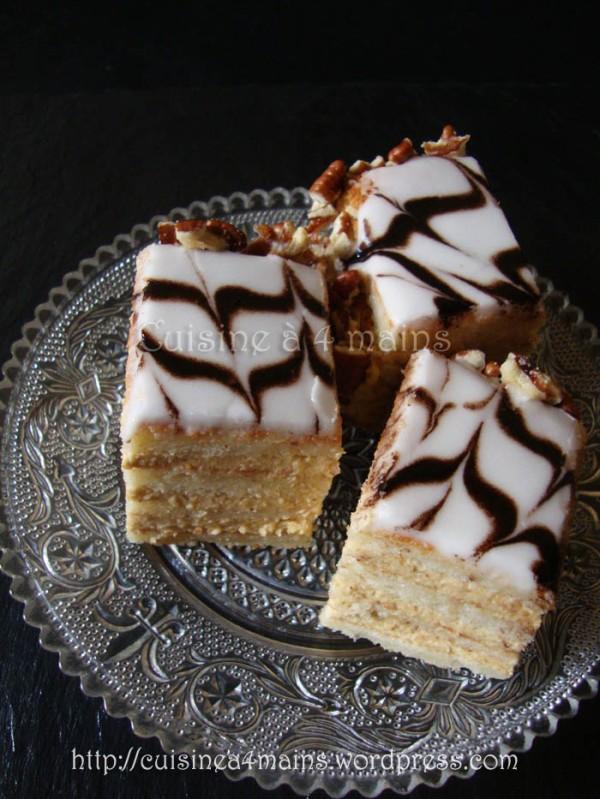 Esterhazy Torte4 - cuisine à 4 mains
