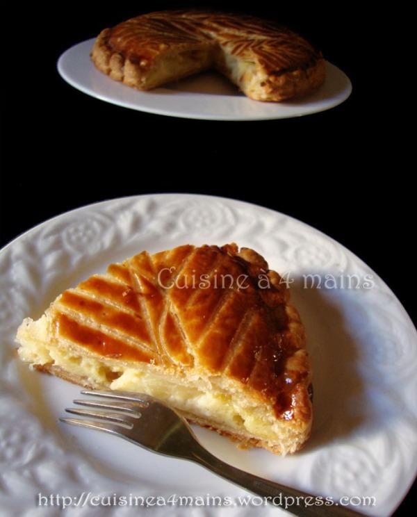 galette des rois ananas 4 - cuisine à 4 mains