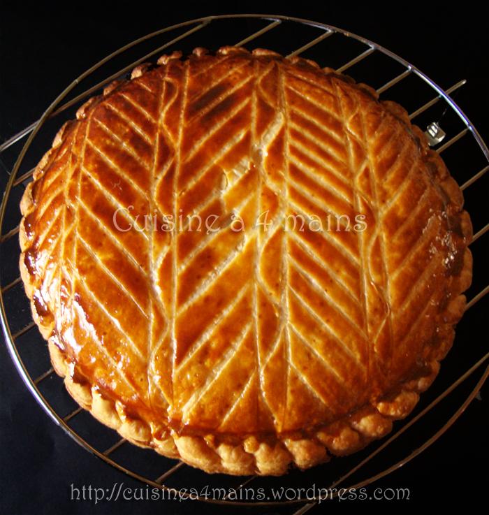 galette des rois à l'ananas 2 - cuisine à 4 mains