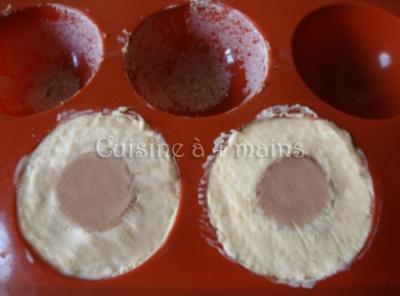 Dôme caramel  5 - cuisine à 4 mains