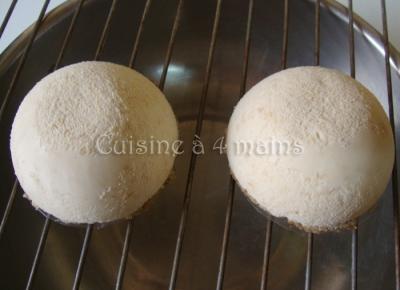 Dôme caramel  6 - cuisine à 4 mains