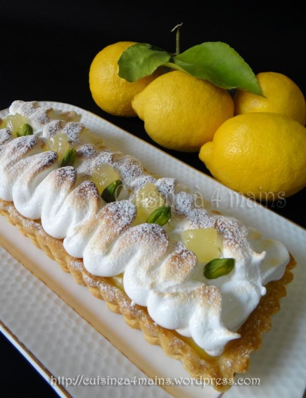 tarte au citron1 - cuisine à 4 mains