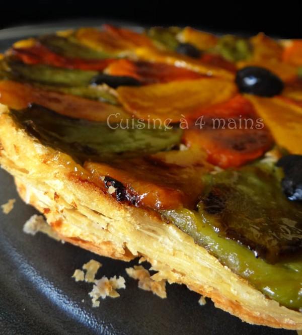 tarte tatin aux poivrons 10 - cuisine à 4 mains