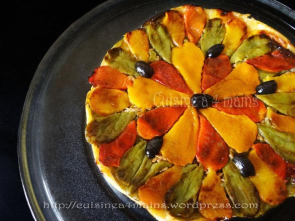 tarte tatin aux poivrons 3 - cuisine à 4 mains copie