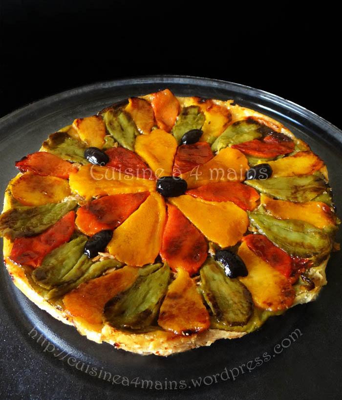tarte tatin aux poivrons 9 - cuisine à 4 mains