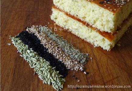 mélanges de graines à pain- cuisine à 4 mains