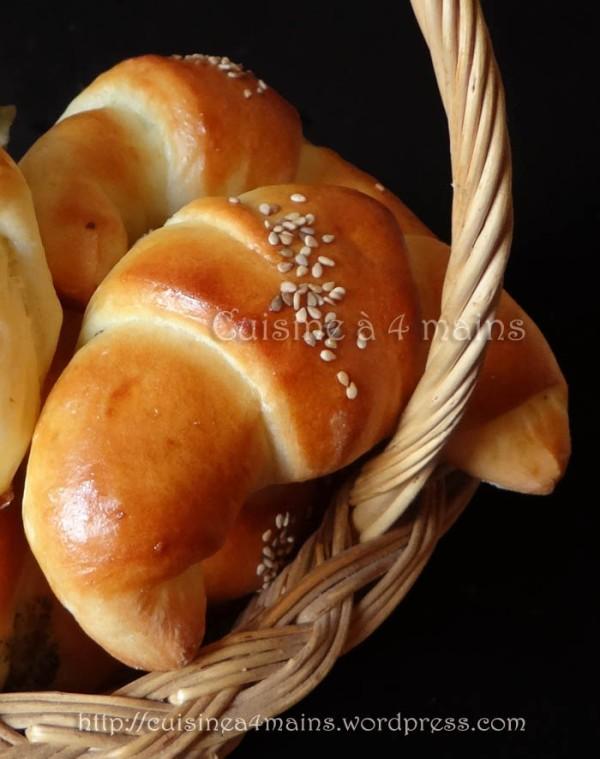 petits croissants au fromage2 - cuisine à 4 mains