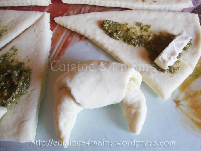 petits croissants au fromage6 - cuisine à 4 mains