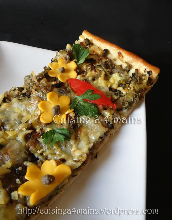 pizza verde2- cuisine à 4 mains