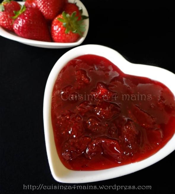 confiture de fraises au MO- cuisine à 4 mains copie