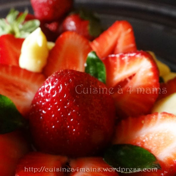 fraisier philippe conticcini 2 - cuisine à 4 mains