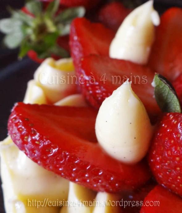 fraisier philippe conticcini 3 - cuisine à 4 mains copie