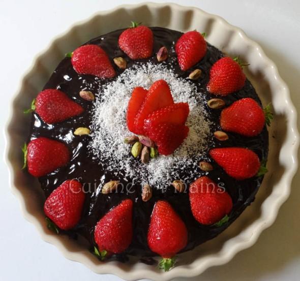 gateau au chocolat1 - cuicine à 4 mains