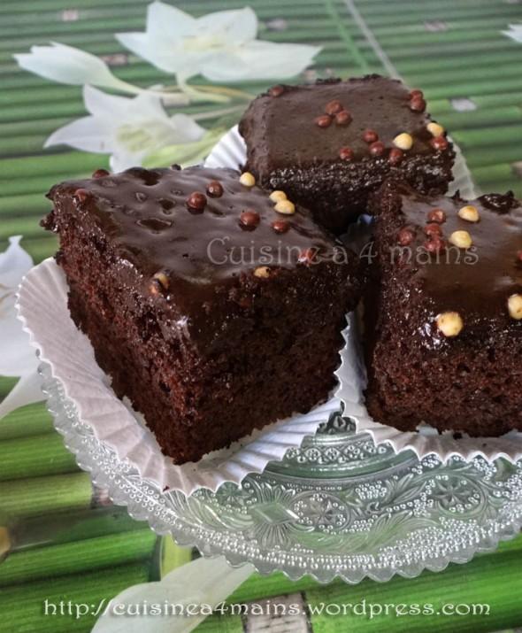 Gâteau au chocolat2-  cuisine à 4 mains
