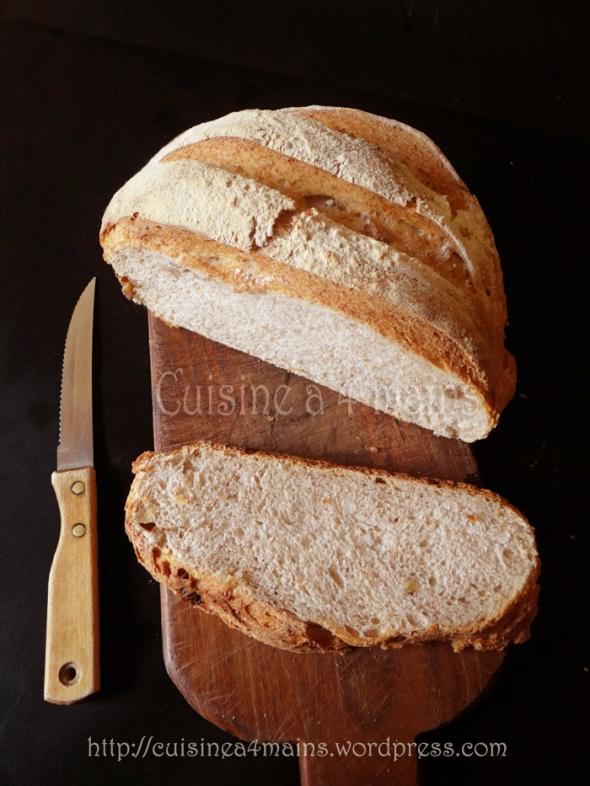 pain cocotte aux noix11- cuisine à 4 mains
