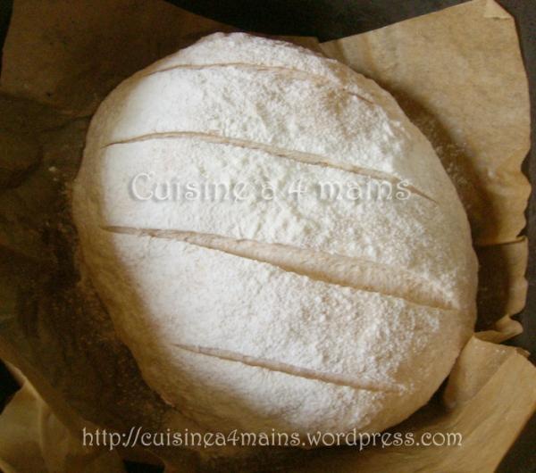 pain cocotte aux noix3 - cuisine à 4 mains