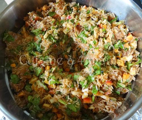 riz djerbien 5 - cuisine à4 mains