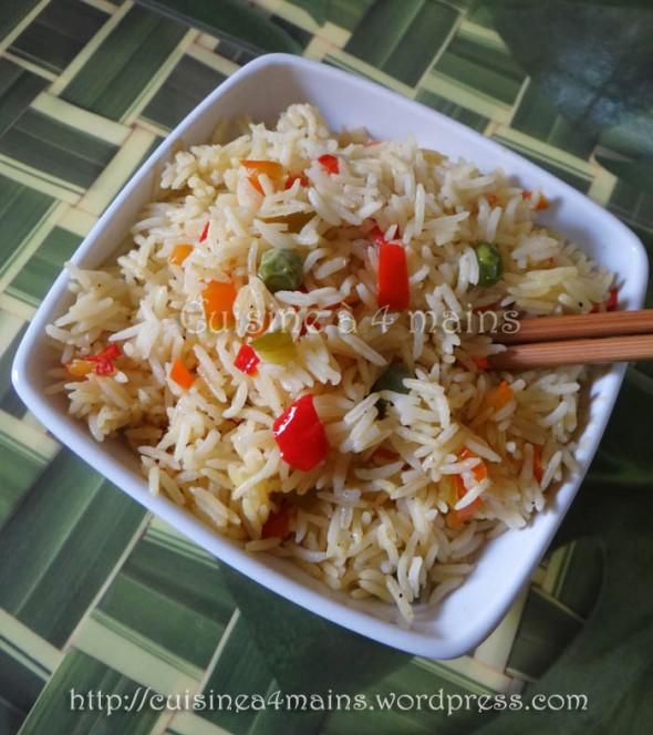Riz express 1 - cuisine à 4 mains