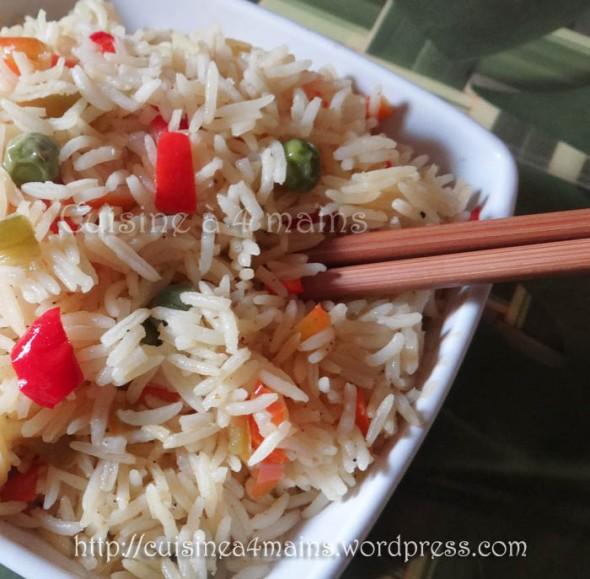 Riz express 2 - cuisine à 4 mains