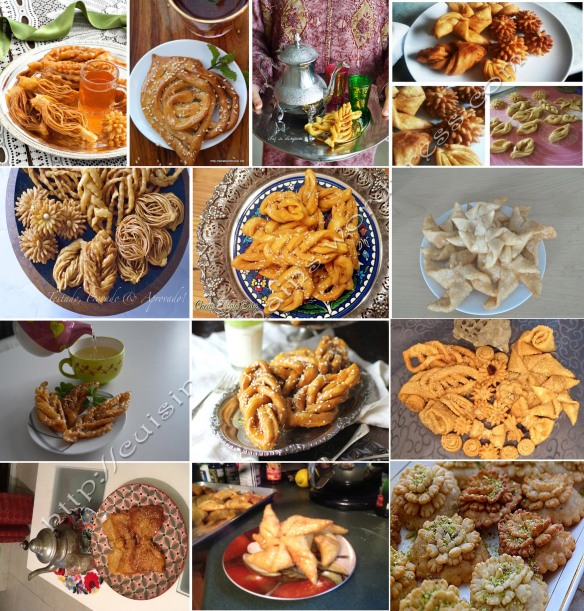 Griwech Algerian Pastry For The Daring Cooks July 2015