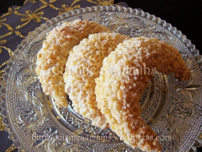 tcharek el ariane croissants aux amandes alg 233 riens recette facile 224 la p 226 te magique