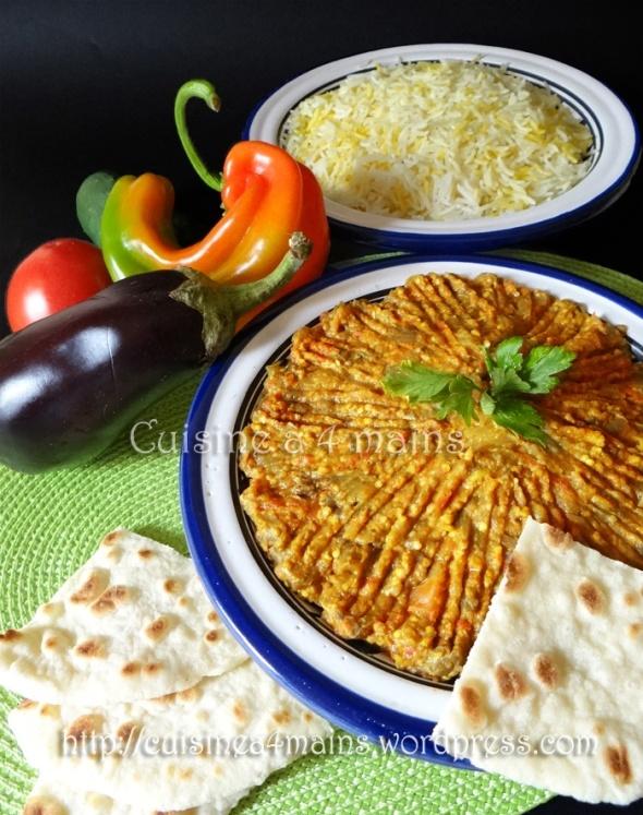 Mirza ghassemi- cuisine à 4 mains