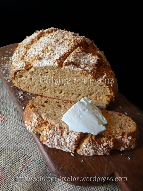 Irish soda bread 1 - cuisine à 4 mains