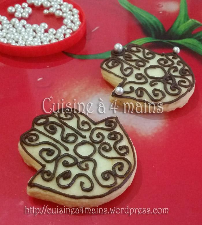 Sablés Khamssa Au Chocolat: Sablés Khamssa 5 – Cuisine à 4 Mains