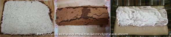 bûche chocolat 6 - cuisine à 4 mains