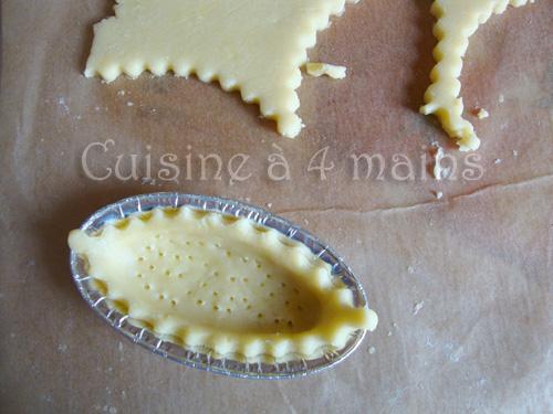 barquettes au citron 4 - cuisine à 4 mains