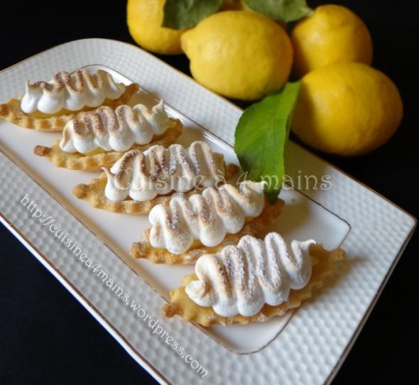 barquettes au citron 7 - cuisine à 4 mains