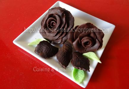 chocolat plastique2 - cuisine à 4 mains