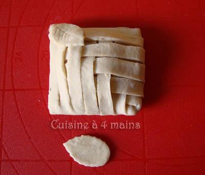 Feuilleté aux champignons - cuisine à 4 mains