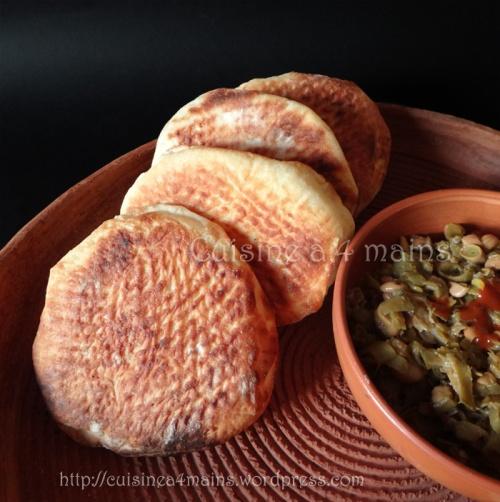 khobz ettagine1- cuisine à 4 mains