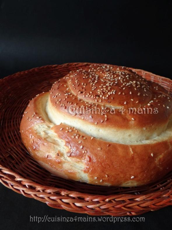 pain spirale 1 - cuisine à 4 mains
