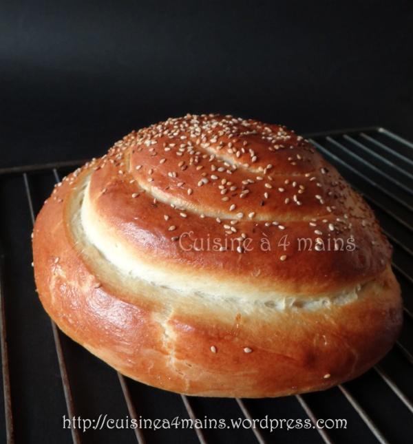 pain spirale 6 - cuisine à 4 mains