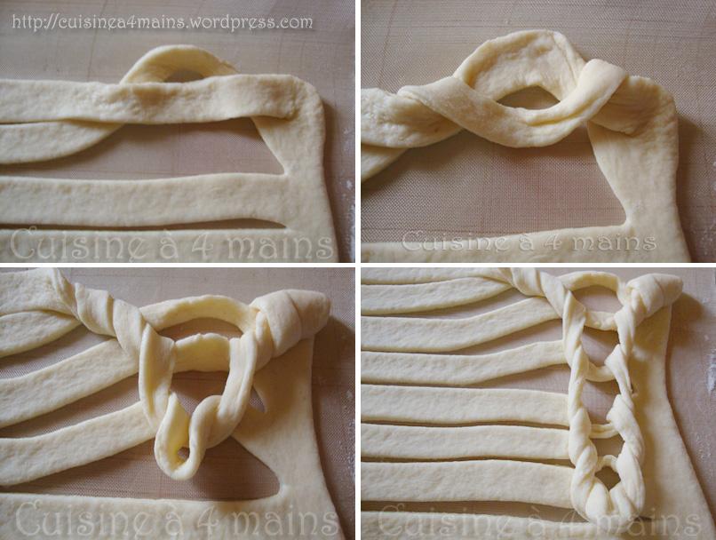 tourte tricotée 7 - cuisine à 4 mains