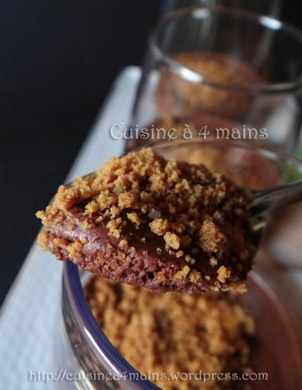 mousse au chocolat Conticini 2 - cuisine à 4 mains