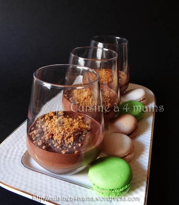 mousse au chocolat Conticini 3 - cuisine à 4 mains