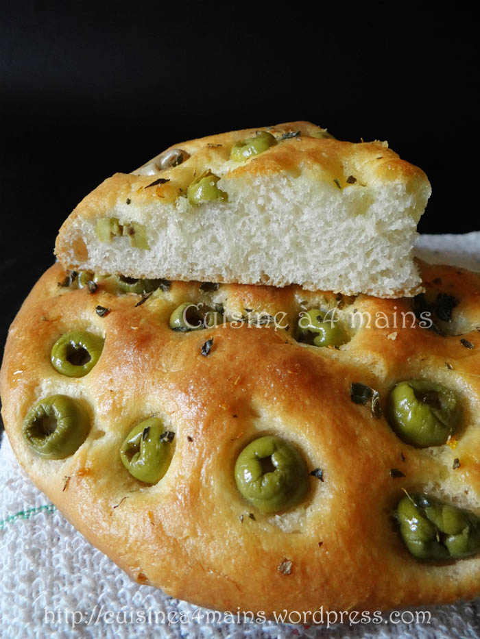 Pain aux olives cuisine 4 mains for Cuisine 04 mains