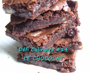 xBrownie aux noix vegan Défi Culinaire #14