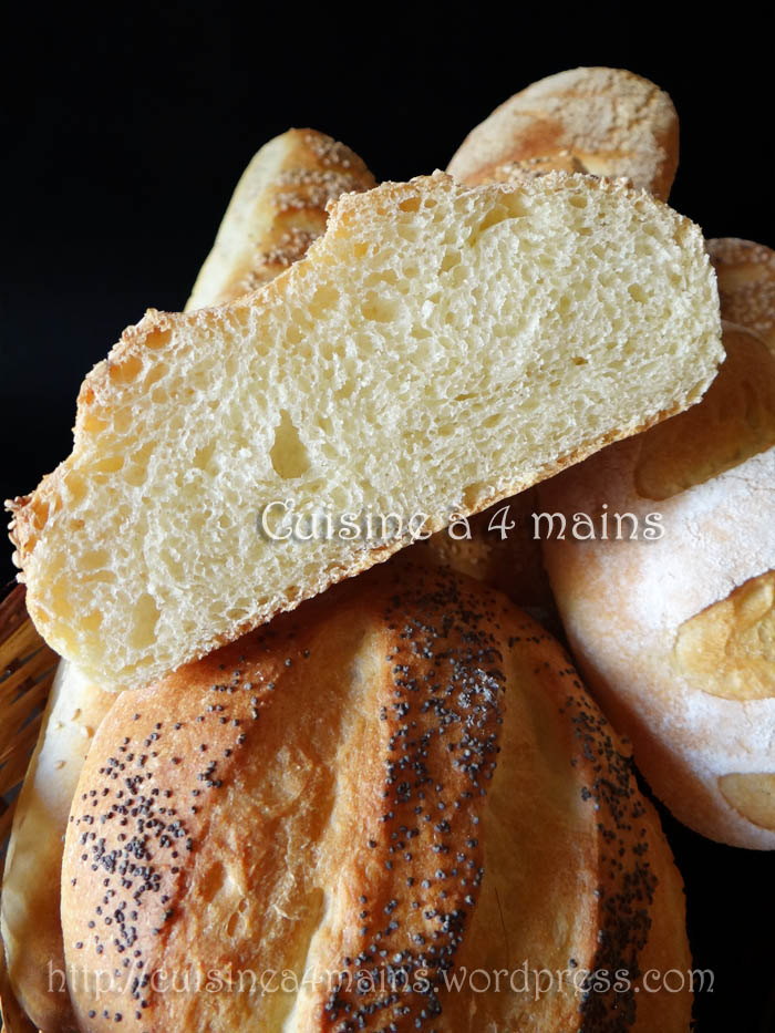 pain marocain 2 - cuisine à 4 mains