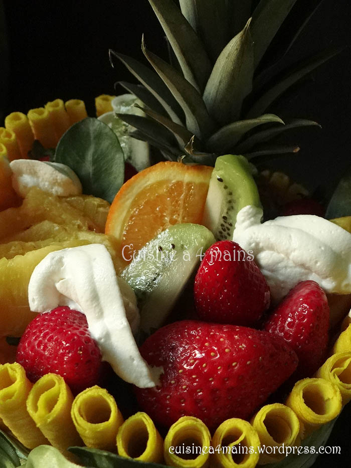 Layer cake aux fruits 2 cuisine 4 mains cuisine 4 for Cuisine 04 mains