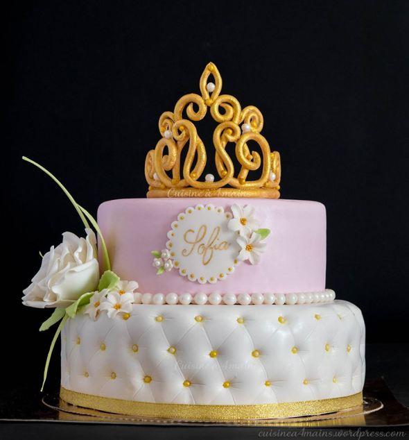 Gateau D Anniversaire Princesse Cuisine A 4 Mains