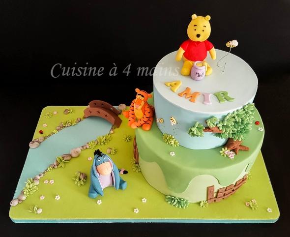 Gâteau Danniversaire Winnie Lourson Cuisine à 4 Mains